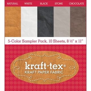 C&T Kraft Tex Paper Fabric Sampler Pack Astd 10pc