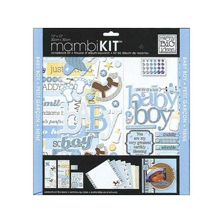 MAMBI Scrapbook Kit 12x12 That's My Boy
