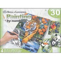 Royal Paint By Number Activity Set