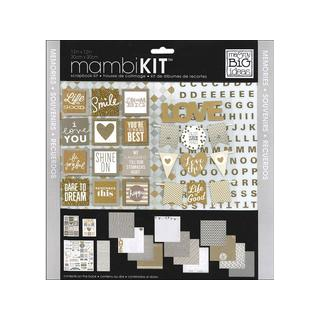 MAMBI Scrapbook Kit 12x12 All About Neutrals