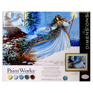 Dimensions Paint By Number 20x14 WdlandEnchantress