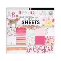 MAMBI Sheets Cdstk Pad 12x12 She's So Lovely