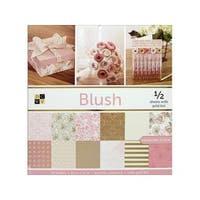 DieCuts Paper Stack 12x12 Prints Blush