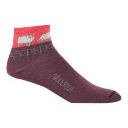 Women's Woolrich Mini Sheep Novelty Quarter Sock (2 Pairs) Fig
