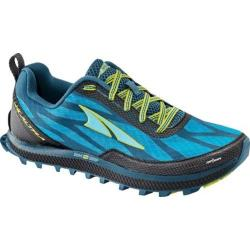Women's Altra Footwear Superior 3 Trail Running Shoe Blue/Lime