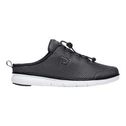 Women's Propet TravelFit Mule Black Mesh