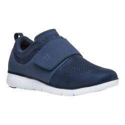 Men's Propet TravelFit Wide Strap Sneaker Navy Mesh