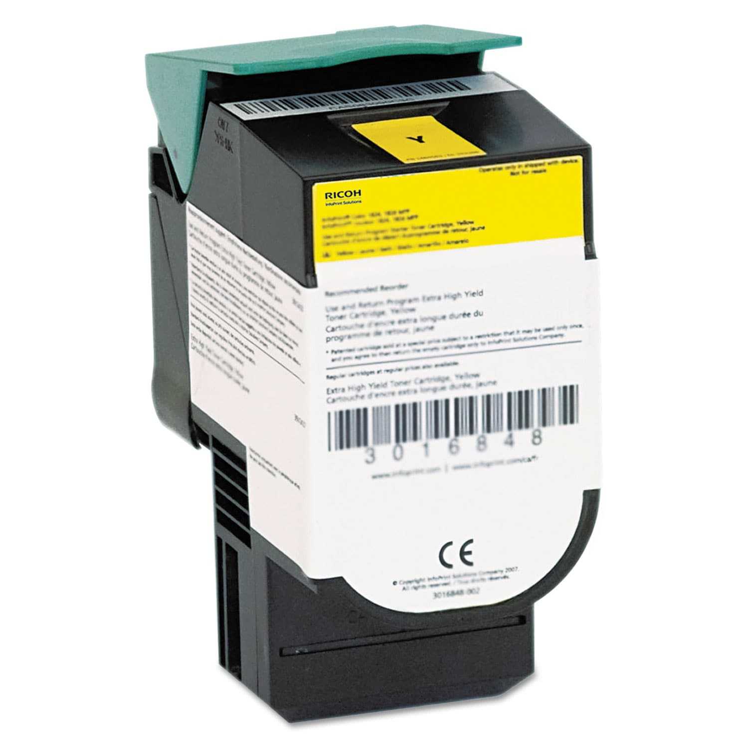 InfoPrint Solutions Yellow Toner Cartridge