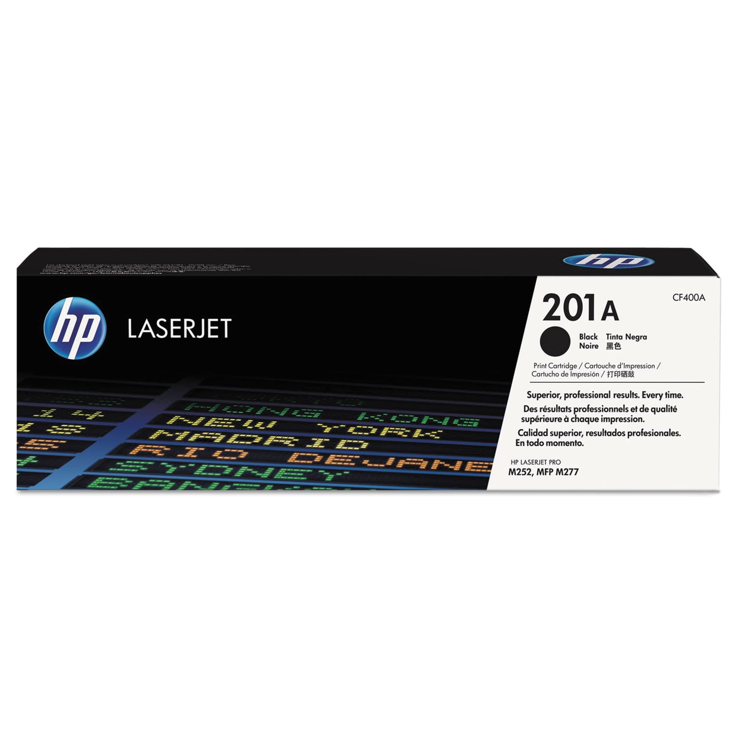 HP 201A Original Toner Cartridge - Black