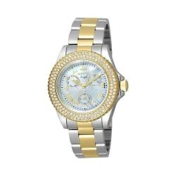 Women's Invicta Angel 17437 Silver/Gold Stainless Steel/White