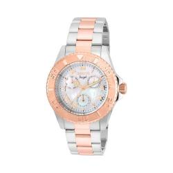 Women's Invicta Angel 17527 Silver/Rose Gold Stainless Steel/White