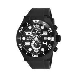 Men's Invicta Pro Diver 15397 Black Polyurethane/Black