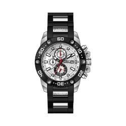 Men's Invicta Pro Diver 21776 Black Polyurethane/Silver Stainless Steel