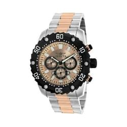 Men's Invicta Pro Diver 22520 Silver Stainless Steel/Rose Gold