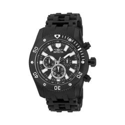 Men's Invicta Sea Spider 14862 Black Ion Plated Stainless Steel/Black