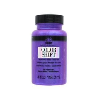Plaid Folkart Color Shift Paint 4oz Purple Flash