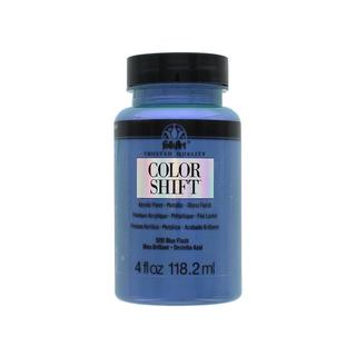 Plaid Folkart Color Shift Paint 4oz Blue Flash