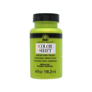 Plaid Folkart Color Shift Paint 4oz Green Flash