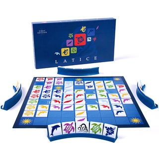 Adacio Latice Deluxe Edition Strategy Board Game