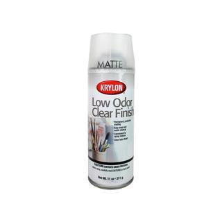 Krylon Artist Spray 11oz Low Odor Clear Matte