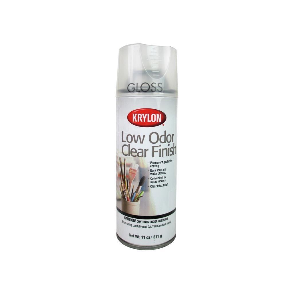 Krylon Artist Spray 11oz Low Odor Clear Gloss (Decorative...