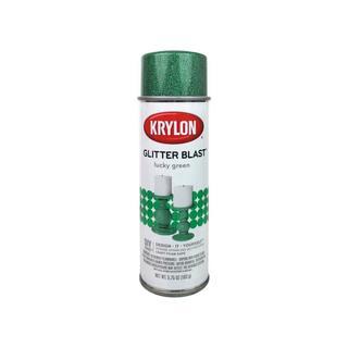 Krylon Glitter Blast Paint 5.75oz Lucky Green