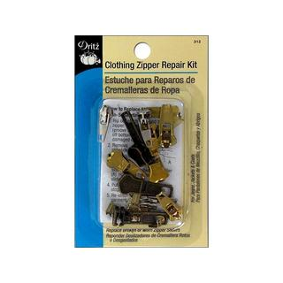 Dritz Zipper Repair Kit Clothing Astd