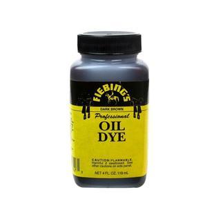 Fiebings Leathercraft Pro Oil Dye 4oz Dark Brown