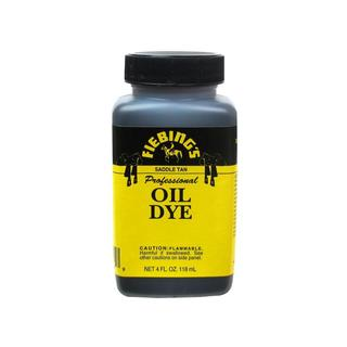 Fiebings Leathercraft Pro Oil Dye 4oz Saddle Tan