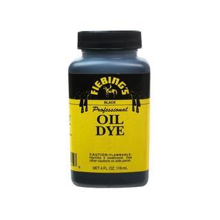 Fiebings Leathercraft Pro Oil Dye 4oz Black