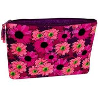 Darice Fashion Bags Fabric Zipper Pouch Flrl Pink
