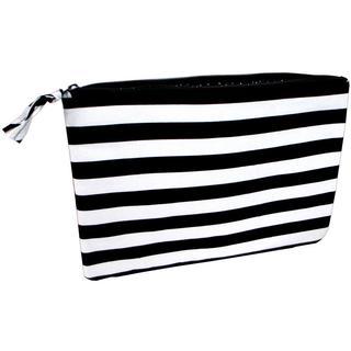 Darice Fashion Bags Fabric Zipper Pouch Blk/Wht