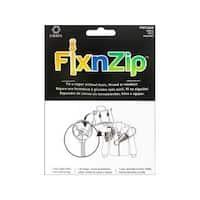 C&C FixnZip Slider Small Nickel With Pull Tab
