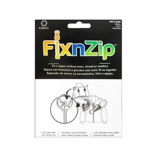 C&C FixnZip Slider Small Nickel With Pull Tab