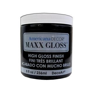 Decoart Americana Maxx Gloss 8oz Patent Leather