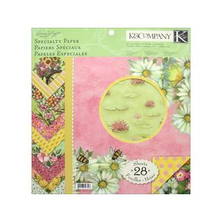 K&Co Paper Pad 12x12 SW Spring Blossom Specialty