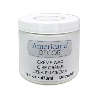Decoart Americana Decor Creme Wax 16oz Deep Brown