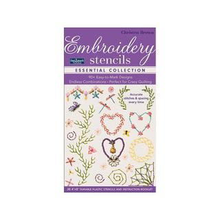 C&T Fast2Mark Essential Embroidery Stencils