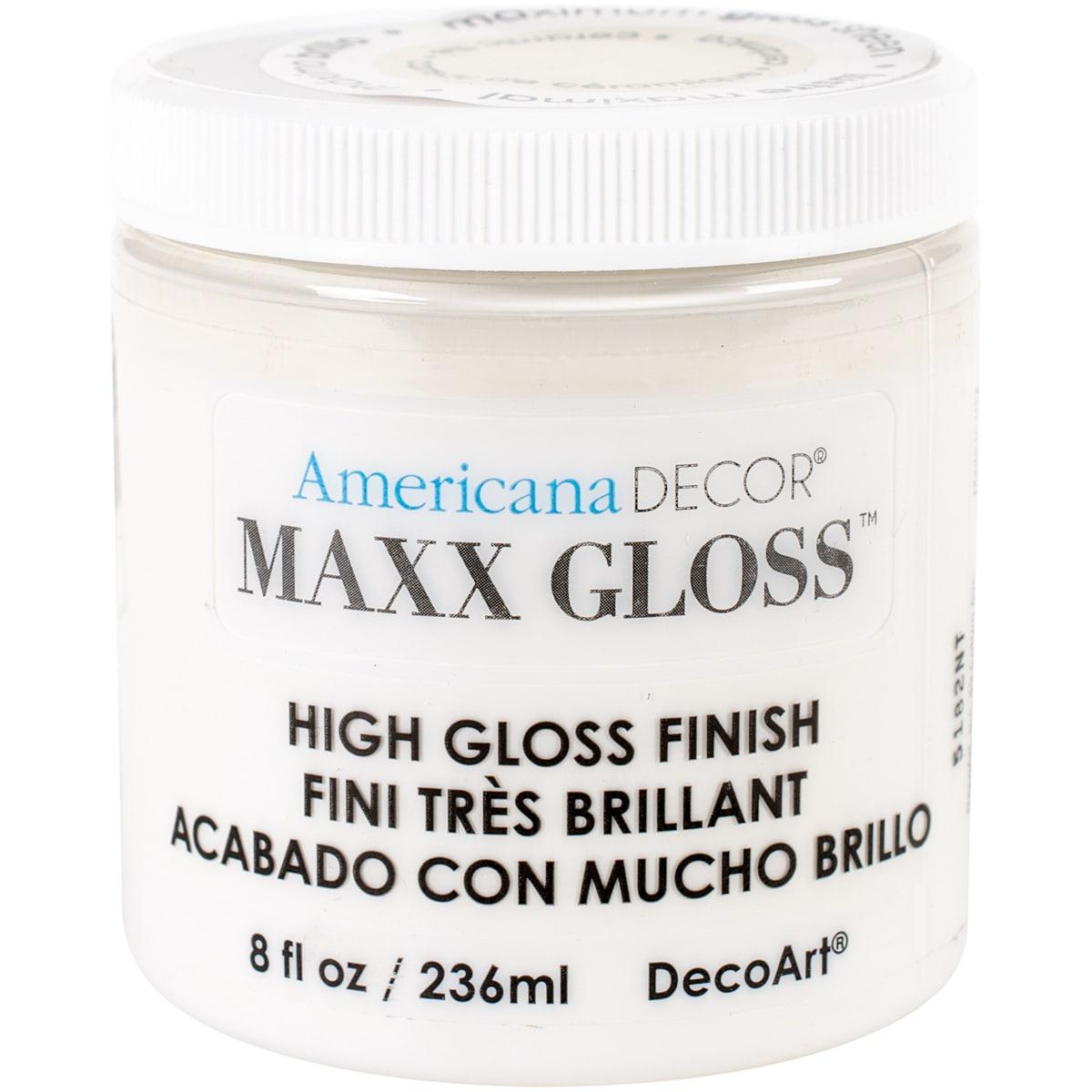 Decoart Americana Maxx Gloss 8oz Ceramic Tile (Decorative...