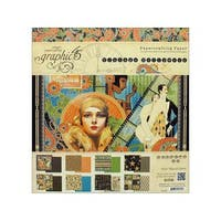 Graphic 45 Vintage Hollywood Paper Pad 8x8