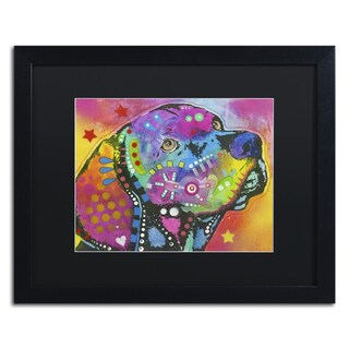 Dean Russo 'Psychedelic Lab' Matted Framed Art (As Is Item)