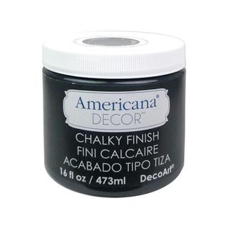 DecoArt Americana Decor Black Chalky Finish Relic 16-ounce Paint