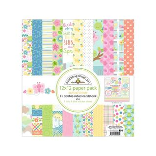 Doodlebug Spring Things Paper Pack 12x12