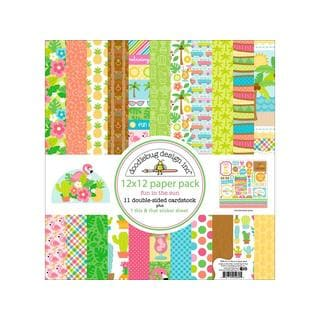 Doodlebug Fun In The Sun Paper Pack 12x12