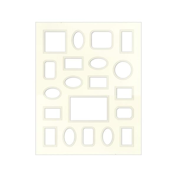 Accent Design Antique White 16 x 20 Specialty Framing Matte - Free ...