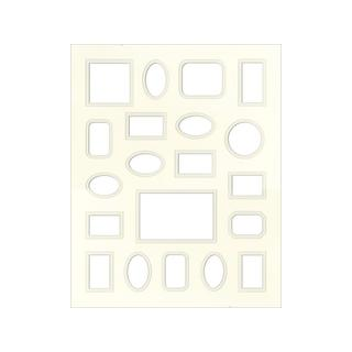 Accent Design Antique White 16 x 20 Specialty Framing Matte