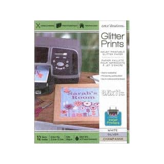 Coredinations 8.5-inch x 11-inch Glitter Paper Pad in Assorted Colors|https://ak1.ostkcdn.com/images/products/16200409/P22572089.jpg?impolicy=medium