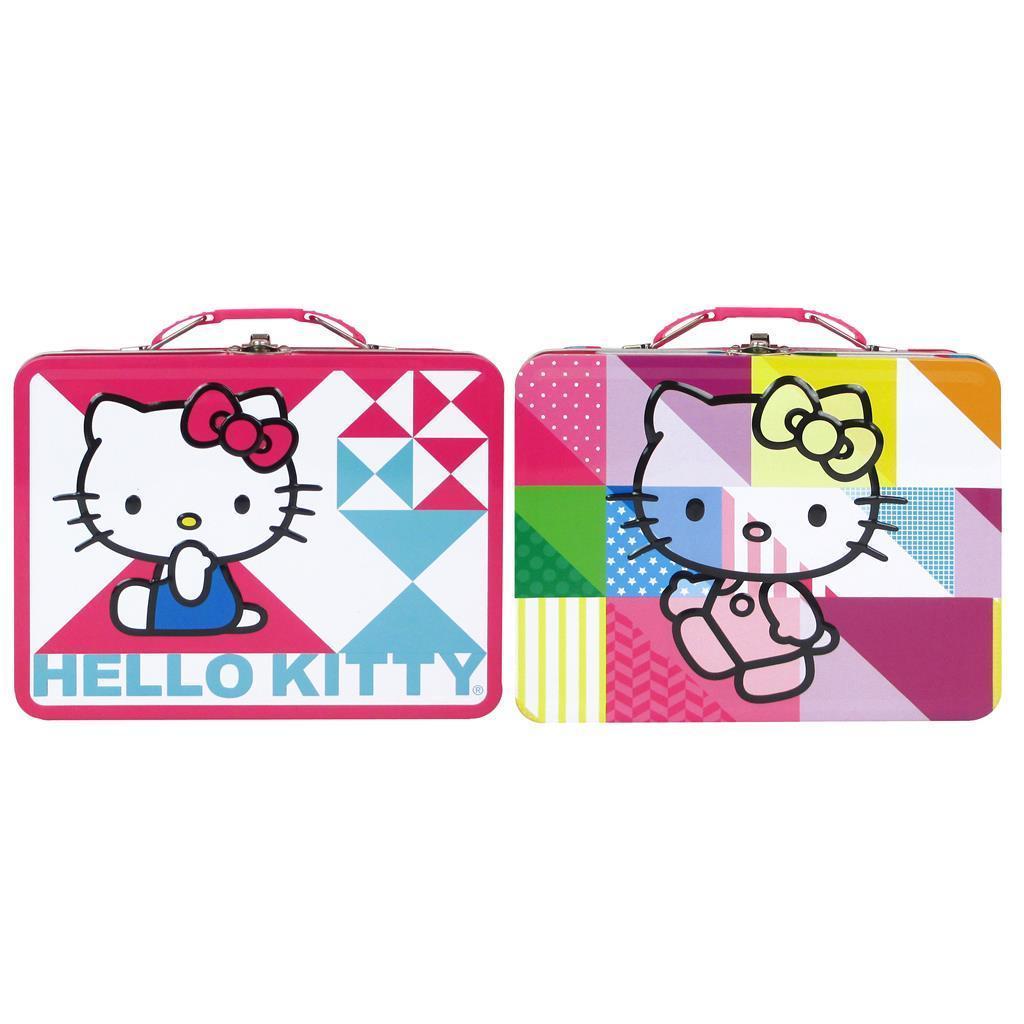 Morgan Tin Box Co Carry All Lg Hello Kitty Astd (Totes & ...