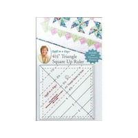 """Quilt In A Day Ruler 4.5"""" Triangle Square Up"""