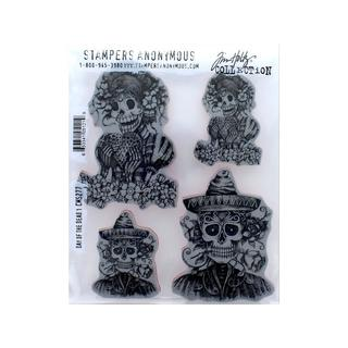 StampersA Cling Stamp THoltz Day Of The Dead 1
